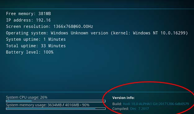 kodi v18 windows 64 bit unduh