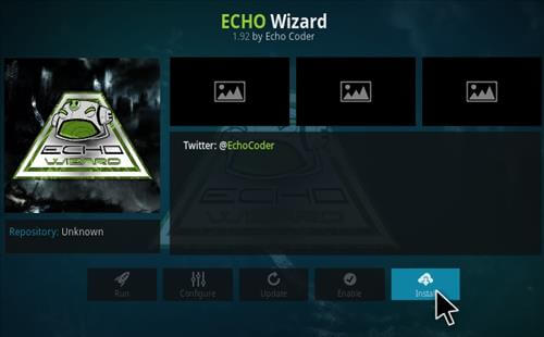 eco wizard kodi stillingar