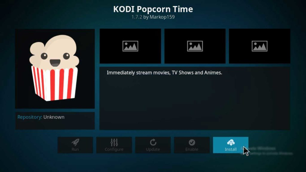 popcorntime setup on firestick