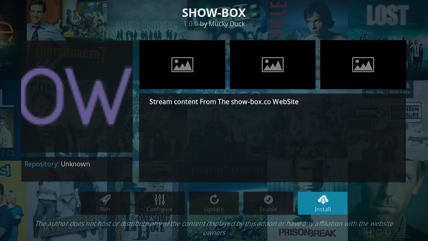 showbox stream a kodi