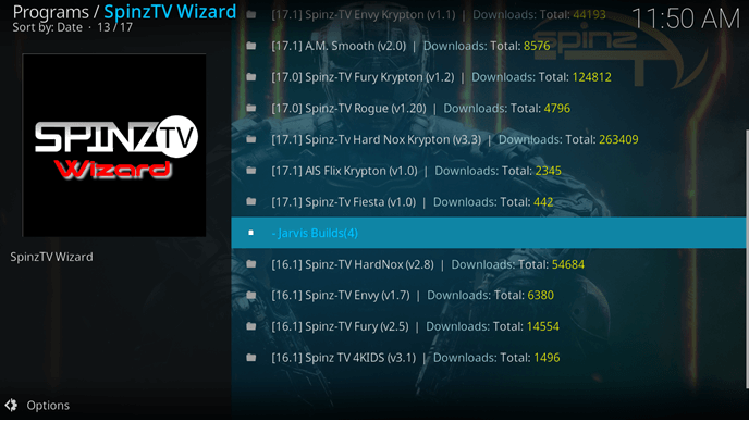 Wie installiere ich Spinz TV Kodi Jarvis Version 16