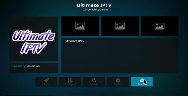 ultimative iptv on kodi konfiguration